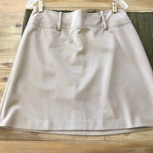 The Limited Stretch tan skirt